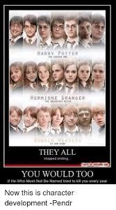 Hermione Granger Memes - harry potter tee chosen one hermione granger tri drigntest mitch