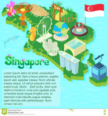 Map Of Singapore Map Of Singapore Icon Cartoon Style Stock Vector Image 82566522
