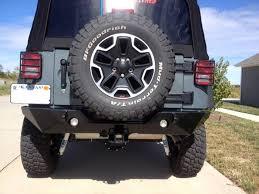 Jk Led Fog Lights 07 17 Jeep Wrangler Jk 2 4dr Rock Crawler Rear Bumper 4