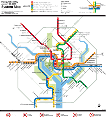 Metro Light Rail Schedule Inauguration Day Service Information Wmata