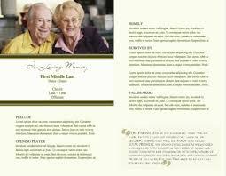 Funeral Bulletin Templates Funeral Service Bulletin