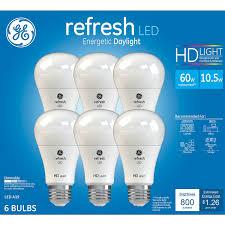 daylight led light bulbs cheapees rakuten ge 60w refresh daylight high def a19 dimmable
