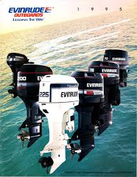 1995 evinrude outboard sales brochure by liquid nirvana issuu