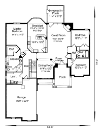 ranch home floor plan ranch house plan first floor 065d 0106 house plans and more