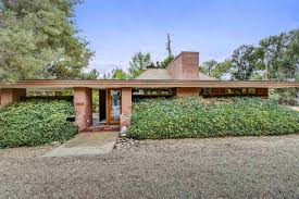 Frank Lloyd Wright Inspired Home Plans by A Wee Frank Lloyd Wright Inspired Home Can Be Yours For 299k Curbed