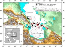 Northern Asia Map by Deep Earthquakes Beneath The Northern Caucasus Evidence Of Active