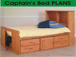 Twin Headboard Plans by Beds Captain