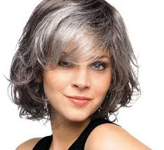 salt and pepper hair with brown lowlights silver fox hair styles for medium texture wavy hair low lights