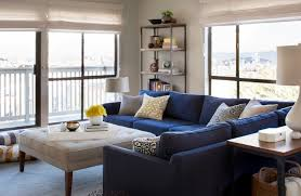 Navy Blue Sectional Sofa Design Options Home  Decor - Sectional sofa design