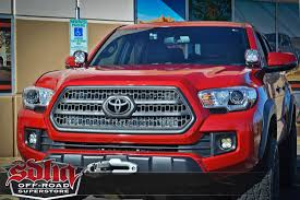 tacoma grill light bar sdhq 2016 tacoma behind the grille dual led bar light mount sdhq