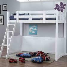 White High Sleeper Bed Frame Willow White High Sleeper Bed Children S Furniture Fads