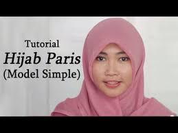 tutorial hijab segi empat paris simple tutorial hijab paris segi empat simple youtube