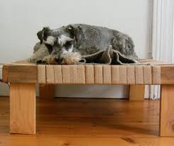 Elevated Dog Bed With Stairs 25 Fabulous Diy Pet Bed Ideas Part 2 The Cottage Market