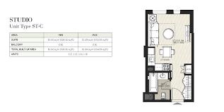 floor plan studio type hayat boulevard apartments in town square dubai by nshama
