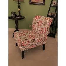 Patterned Accent Chair Furniture Of America Bessia Modern Patterned Accent Chair Free