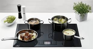 gaz electrique cuisine quelle différence entre une table vitrocéramique et induction