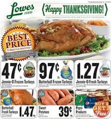 lowes foods weekly ad nov 19 nov 27 2014 happy thanksgiving day
