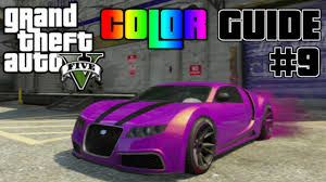 gta v ultimate color guide 9 best colors combos for truffade