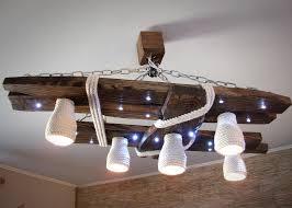 lustre chambre ado gar輟n cuisine lustre en bois avec les points d ã clairage led et des
