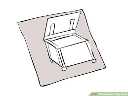 How To Make A Toy Box Bench Seat by How To Build A Toy Chest 14 Steps With Pictures Wikihow