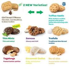 Order Cookies Scout Cookies 5 Boxes Ships Quickly Fresh Order By Mar