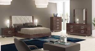 furniture prestige deluxe sleigh bedroom set in cognac birch