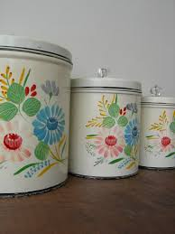 best 25 vintage canisters ideas on pinterest red canisters red
