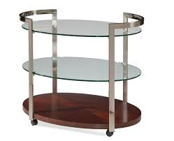 bassett mirror company thoroughly modern gordon tea cart a2101 by