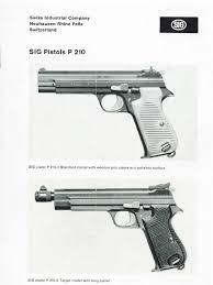 sig 210 manual trigger firearms rifle