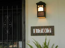 Lighted House Number Sign Lighted House Number Plaque All You Need To Know About The House