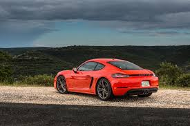 porsche cayman orange review 2017 porsche 718 boxster and cayman drive ny daily
