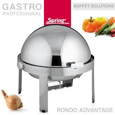 rondo cuisine chafing dish with roll top lid rondo advantage s