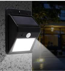 wireless motion lights outdoor 20 led solar lights outdoor waterproof solar powered motion sensor