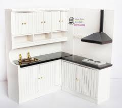 miniature dollhouse kitchen furniture 7 28 1 12 dollhouse miniature kitchen furniture white european