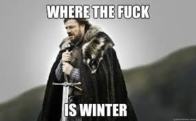 where the is winter ned stark quickmeme