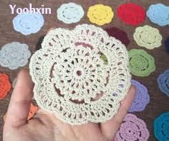 napperon de cuisine chaude dentelle à la coton table napperon tissu pad crochet