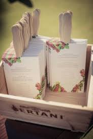wedding ceremony program fans 11 wedding ceremony programs that as fans mywedding