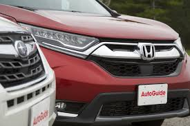 red subaru forester 2017 honda cr v vs 2017 subaru forester autoguide com news