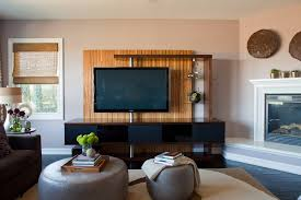 unique media console living room contemporary with cocktail