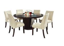 trendy dining room tables 9 dark round dining tables for a contemporary dining room cute