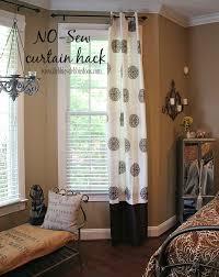 Easy No Sew Curtains Can U0027t Sew No Worries Debbiedoos