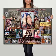 gifts for 60 year birthday gift ideas 60th birthday photo gifts for