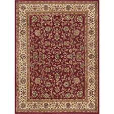 Transitional Rugs 9x12 Red 9 X 12 Area Rugs Rugs The Home Depot