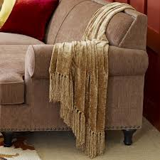 chenille throws for sofas gold chenille throw pier 1 imports