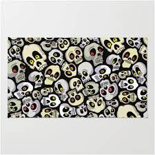 Skull Area Rug Chic Skull Rug Imposing Decoration 19 Of The Coolest Area Rugs