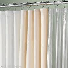 Shower Curtain Vinyl - extra wide 108