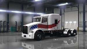 Kenworth T800 Usa Trucking Skin American Truck Simulator Mods