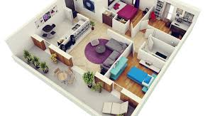 in apartment house plans free 3 bedrooms house design and lay out