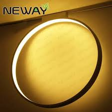 round 40w led ceiling light fixture l bedroom kitchen modern circle 450mm 600mm unique design led ceiling mounted l