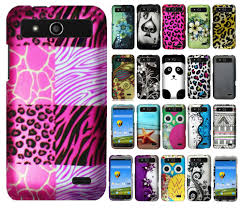 for boost mobile zte speed n9130 rubberized hard protector case